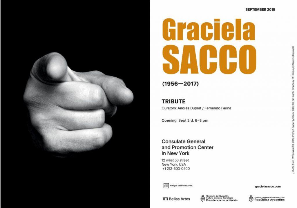 """Tribute"": Homenaje a GRACIELA SACCO en New York"